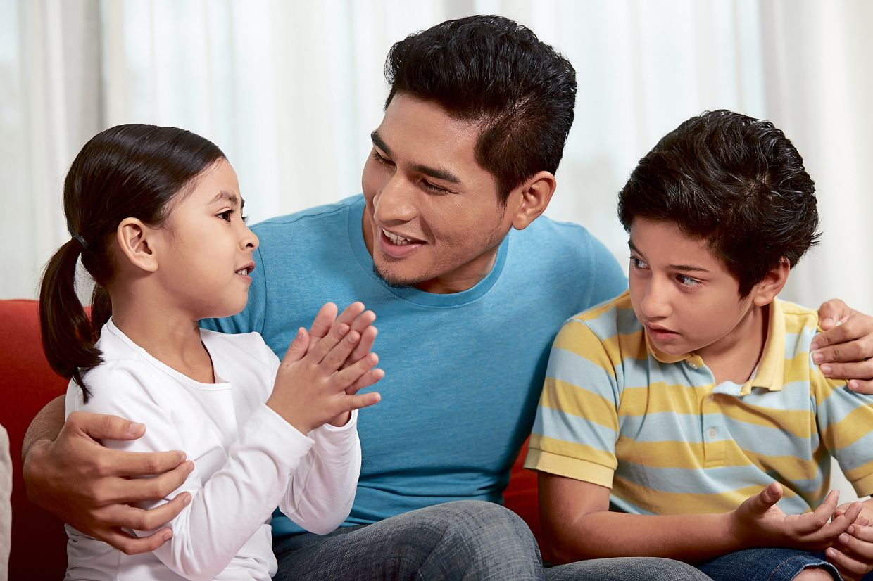 During conversations, let your children have their say without interrupting them, unless they are disrespectful.