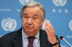U.N. chief pans countries who ignored COVID-19 facts, WHO guidance