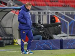 Koeman frustrated at Barca president's Messi comments