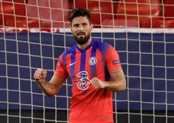 Giroud not assured of Chelsea start despite Sevilla heroics - Lampard