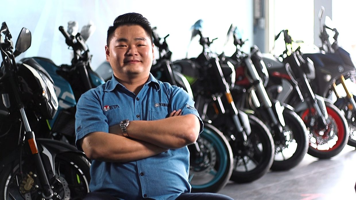 Expanding customer base: Khoo says going online helped the company sell it's overstocked proucts to a wider base of customers.