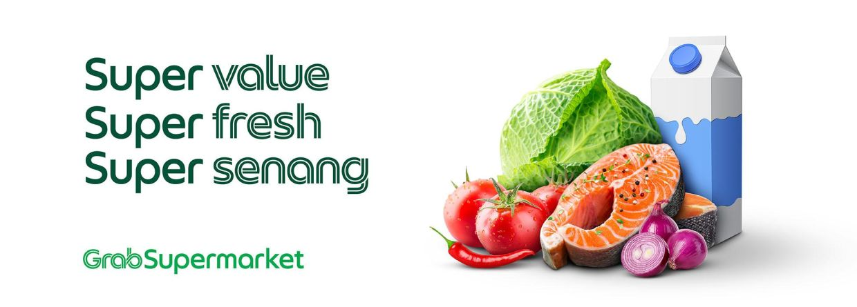 Over 2,500 products and fresh produce are now available on GrabSupermarket.