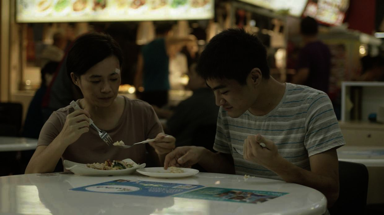 In 'Invisible Stories', Yeo Yann Yann plays a single mother with her 19-year-old son with autism. Photo: Handout