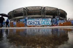 Napoli's San Paolo stadium renamed to honour Maradona