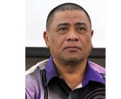 Perak Umno chairman Saarani Mohamad arrives at Istana Kinta