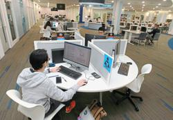 Brick-and-mortar campuses here to stay