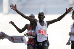 Kenya's Kandie smashes half marathon world record in Valencia