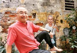 Dr Wee expresses appreciation for Lorong Panggung murals