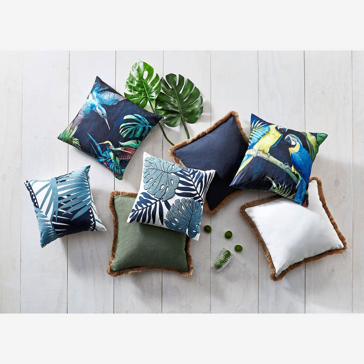 Soften those lines with cushions available for just RM1, purchase-with-purchase.