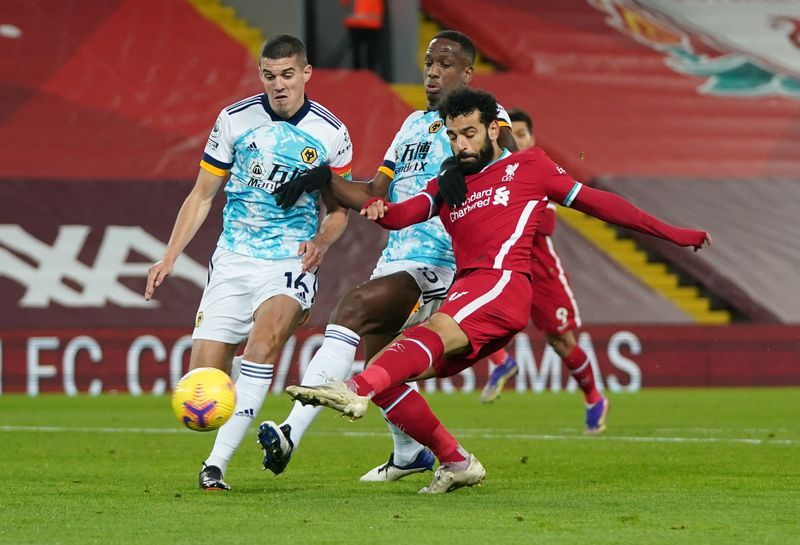 Football: Salah puts on a show for fans as Liverpool wallop Wolves 4-0 |  The Star