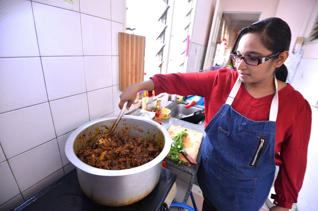 Interestingly, more young people are cooking at home compared to older people, according to a survey in the UK. — Filepic