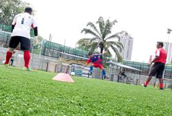 'Let us use Cruyff Court'