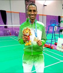 African champion looks to Chong Wei for inspiration