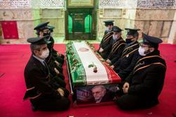 Iran says 'smart satellite-controlled machine gun' killed top nuclear scientist