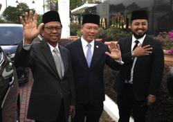 Perak Pakatan says not pledging support for any candidate after meeting with Ruler