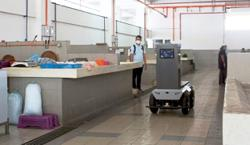 Robotic technology to help with market tasks
