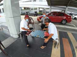 Taxi drivers grateful for aid but want more done to sustain their livelihood
