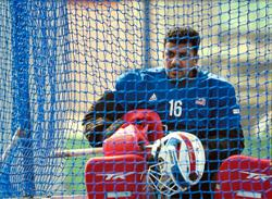 Kumar tells current goalkeepers to be their own man