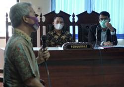 Gay ex-policeman takes his battle to Indonesian court