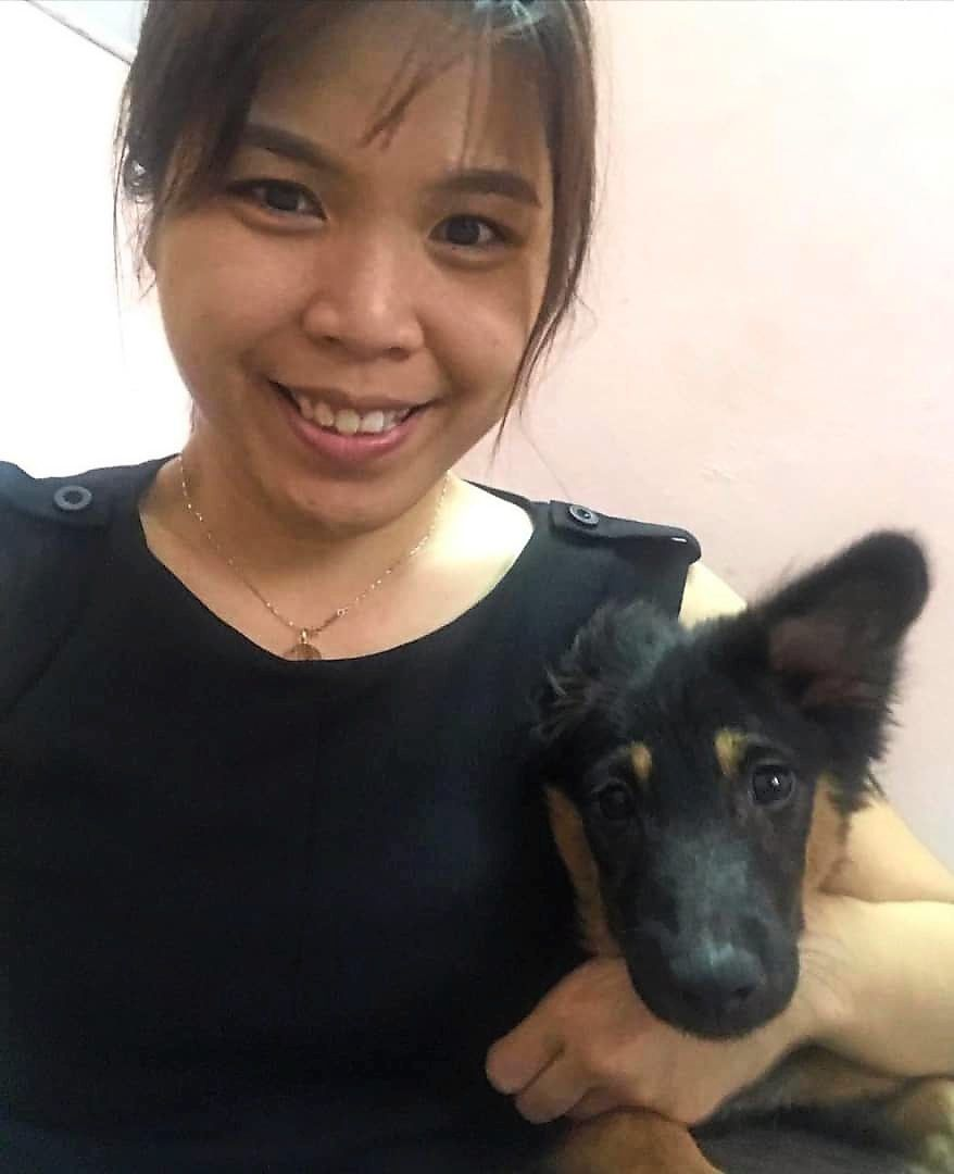 Cheong's colleague and partner in rescue, Edelline Pong.