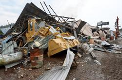 Three business premises near Sungai Rawang demolished