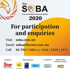 Entries for SOBA 2020 award extended to Dec 15