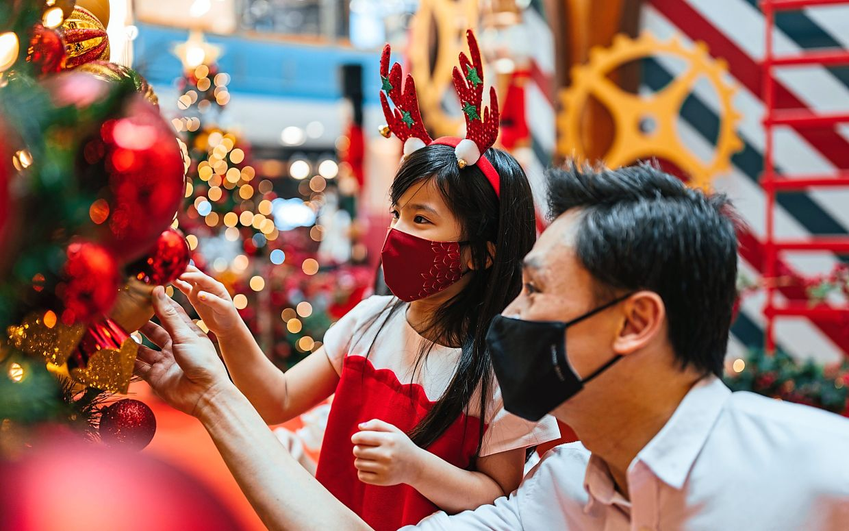 Have a blessed Christmas at Sunway Pyramid.