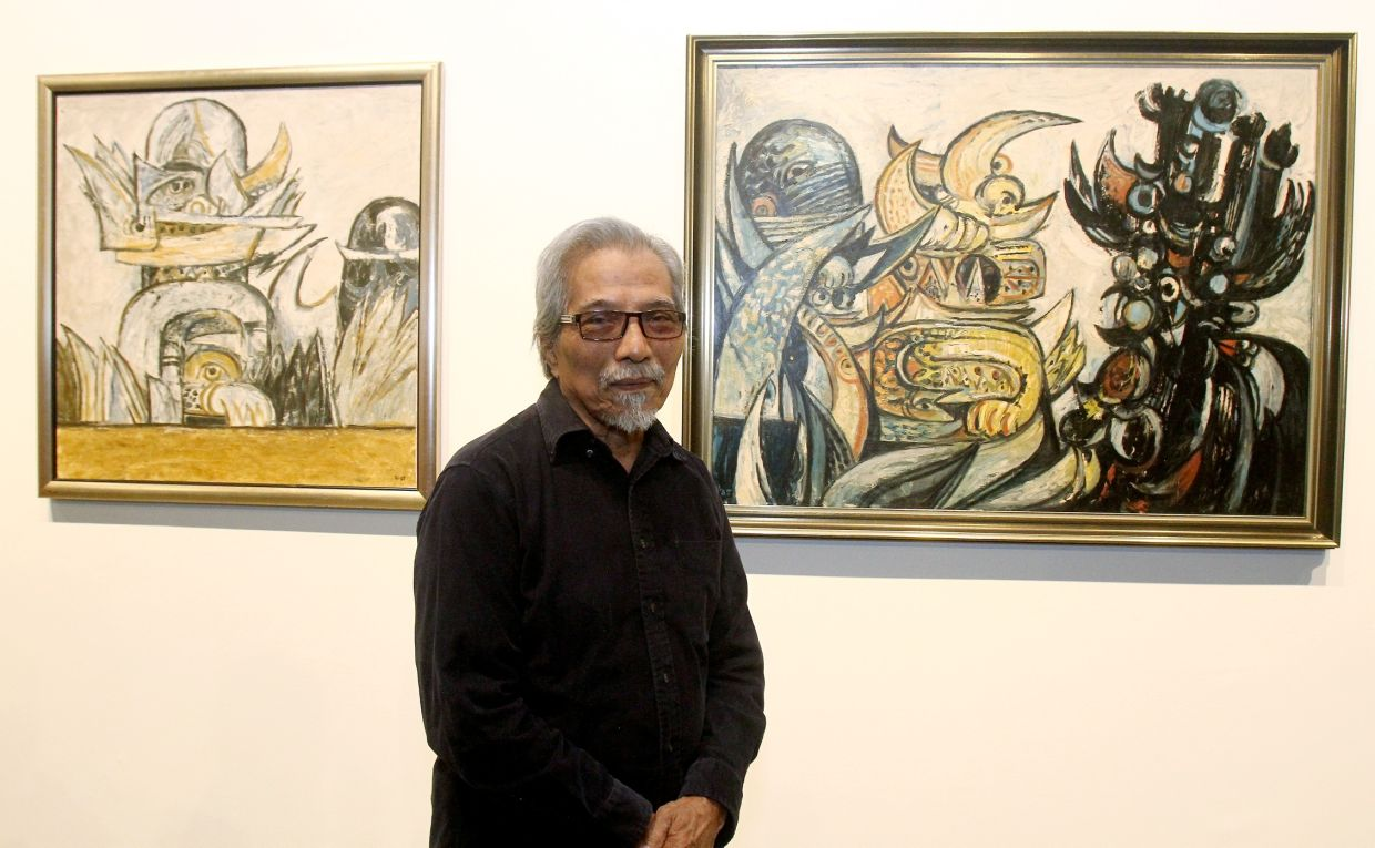 The festival features a photography exhibition inspired by Latif Mohidin. The Penang-based Latif also contributes a poetry reading to the fest. Photo: Filepic