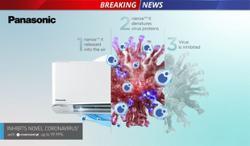 Panasonic's Nanoe X technology proven to inhibit coronavirus