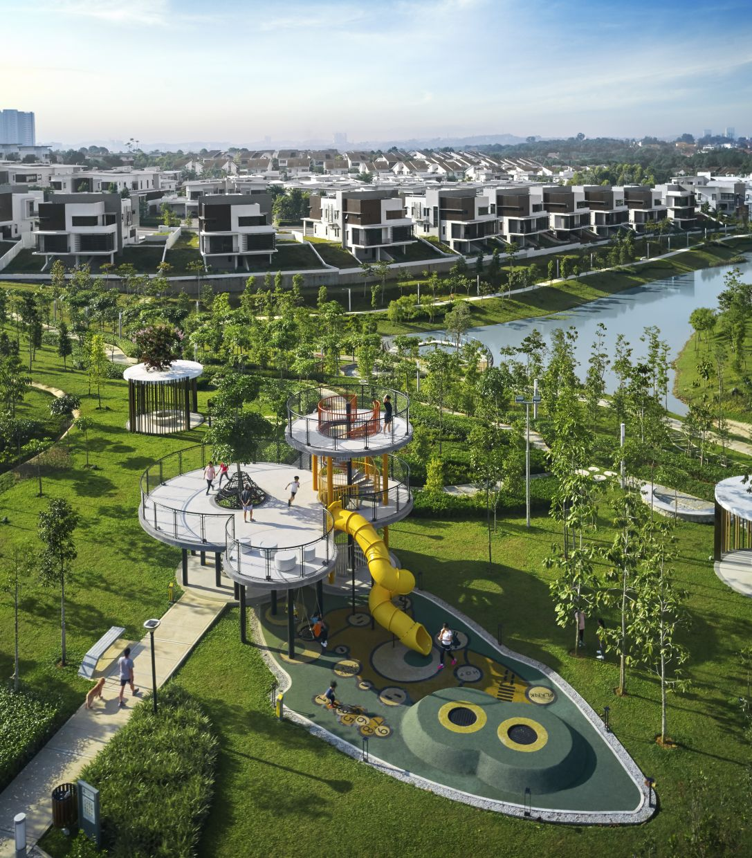 Blossom Springs leverages on proximity and direct access to Jade Hills' breathtaking Central Park.