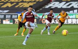 Aston Villa sink Wolves with late El Ghazi penalty