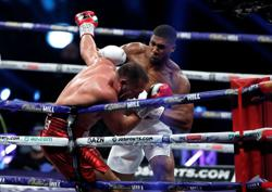 Joshua KOs Pulev to retain heavyweight titles, eyes Fury next