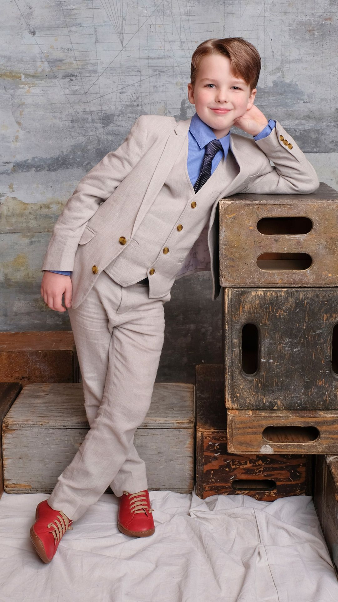 Iain Armitage has been capturing viewers' hearts since 'Young Sheldon' premiered in 2017. Photo: CBS