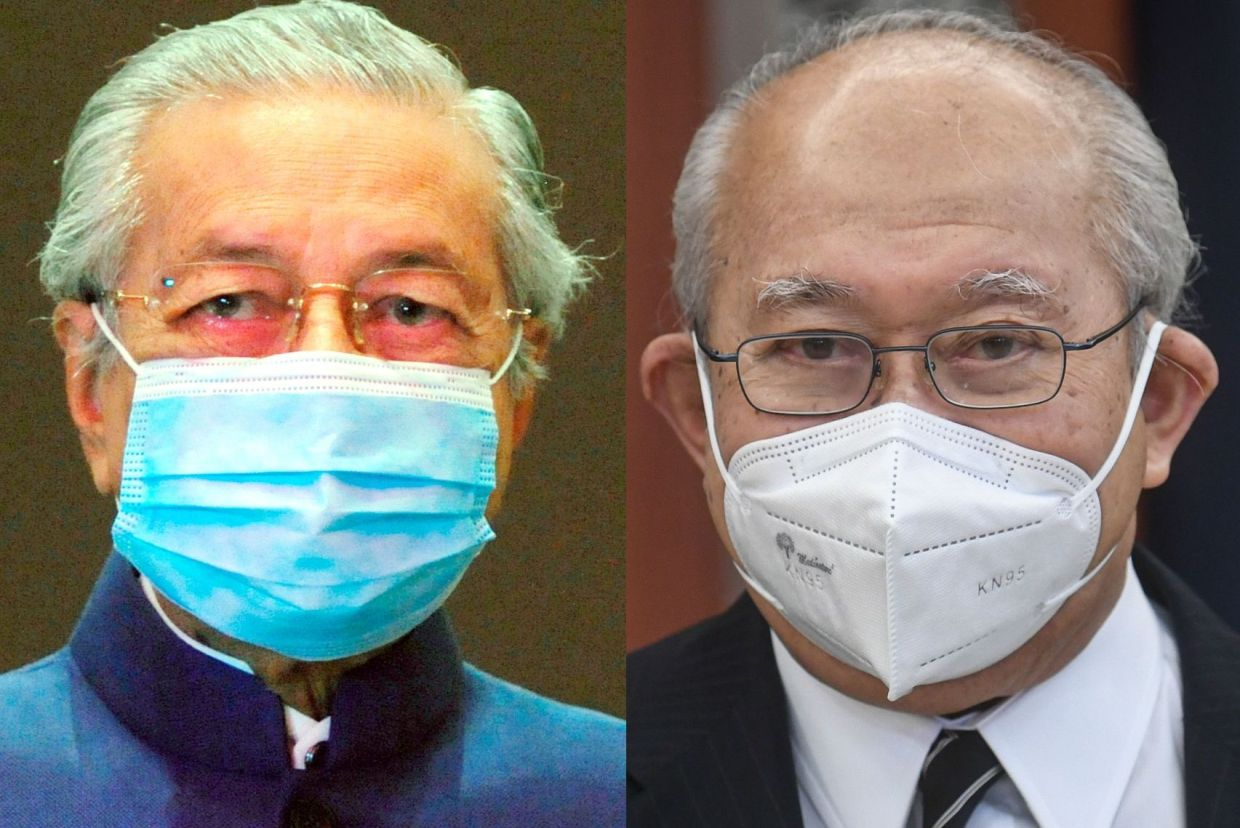 Image of article 'Dr M and Ku Li propose unity govt, Dr M says 'I don't mind being PM' (updated'