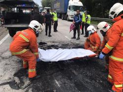 Couple killed after motorcycle crashes into car on NSE