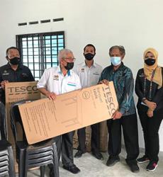 New furniture for Orang Asli community