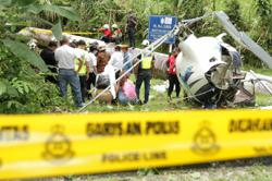 Preliminary report on helicopter crash confirms mid-air collision