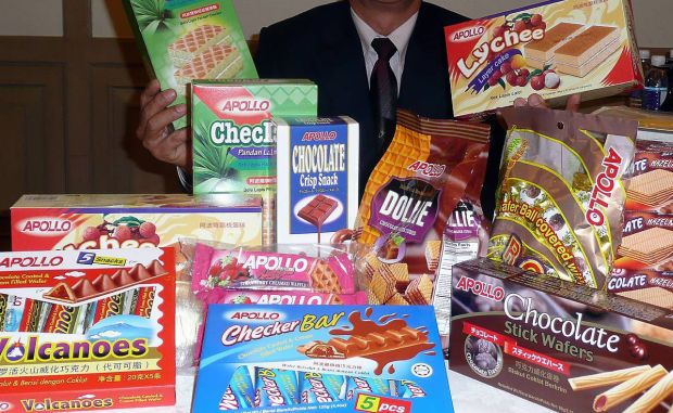 Apollo Food told Bursa Malaysia it has received notice from the Health Ministry on Dec 11 to halt operations at the factory until Dec 17 for the disinfection of its premises. (File pic shows some of Apollo Food Holdings\' products.)
