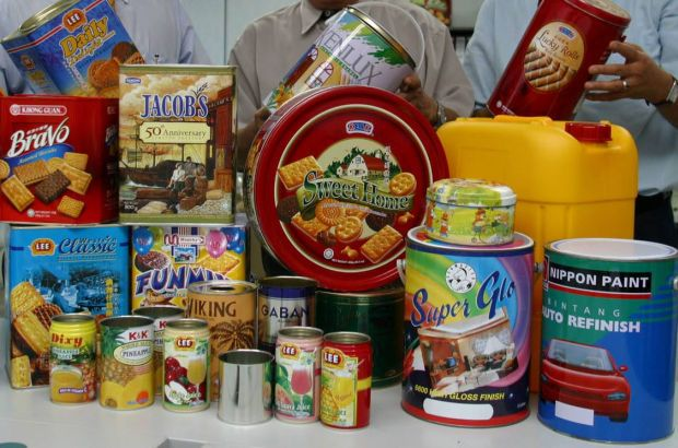 Some of the cans produced by Johor Tin - Filepic