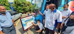 Tour bus put to good use in Bandar Saujana Putra