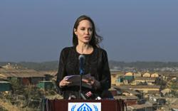 Angelina Jolie offers support, advice to women fearing abuse during the holidays