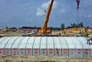 OKA Corporation, which manufactures precast concrete products, closed its Senai factory temporarily until Dec 21 after two of its workers were found to be infected with Covid-19.