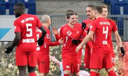 Leipzig's Poulsen on target in 1-0 win at Hoffenheim
