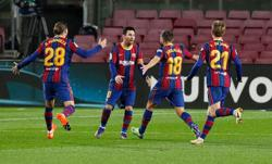 Barcelona prove too strong for upstarts Real Sociedad