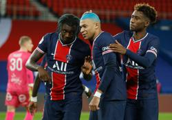 PSG hot on Lille's heels with Lorient win
