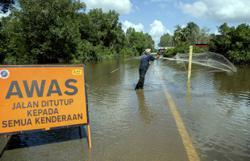 Flood victims increase in Kelantan and Terengganu