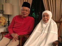 Najib's mum Tun Rahah passes away at age 87