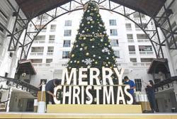 Air of festivity lightens mood