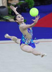 Gymnast Izzah all pumped up for online meet