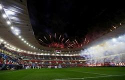 Soccer-Qatar unveils fourth 2022 World Cup stadium
